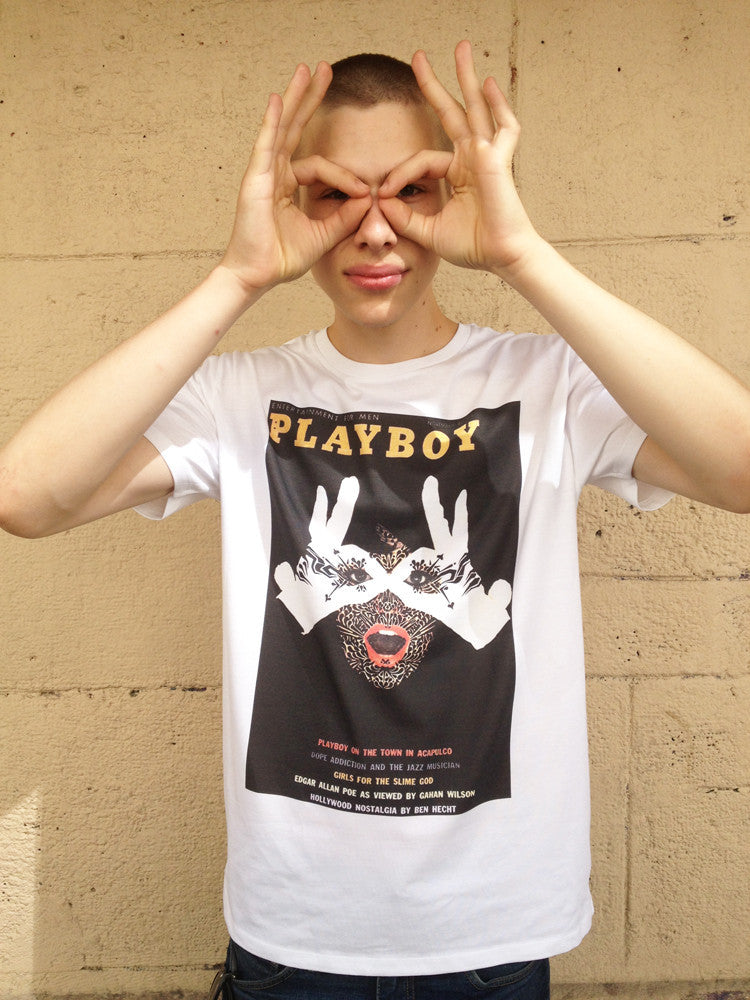 Playboy means nothing-T shirt-Atelier Amelot