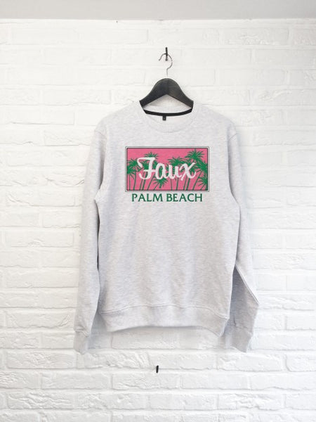 Palm Beach Rose Sweat-Sweat shirts-Atelier Amelot