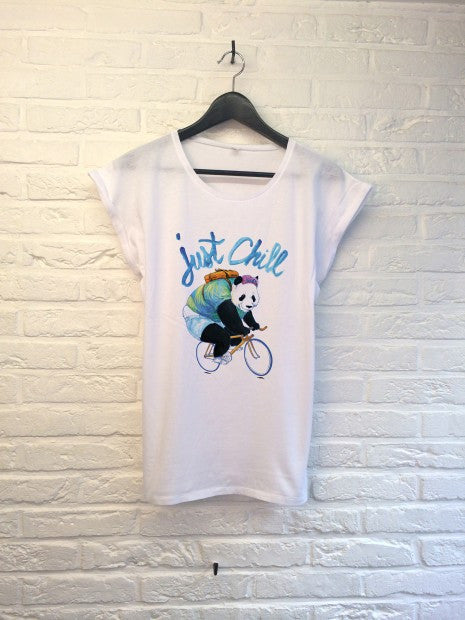 TH Gallery - Panda Just Chill - Femme-T shirt-Atelier Amelot