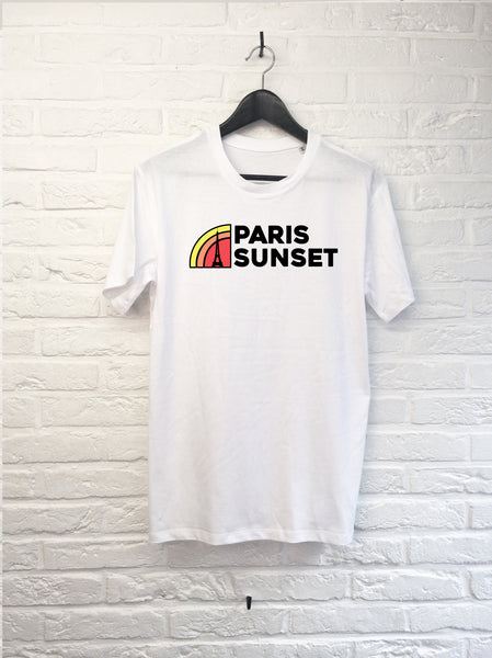 Paris sunset-T shirt-Atelier Amelot