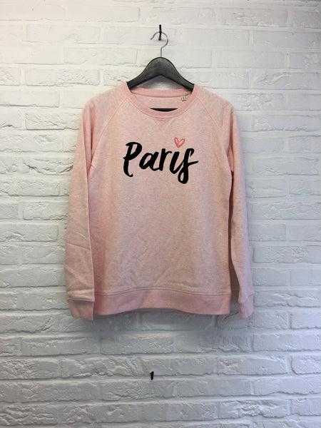 Paris Cœur - Sweat - Femme-Sweat shirts-Atelier Amelot