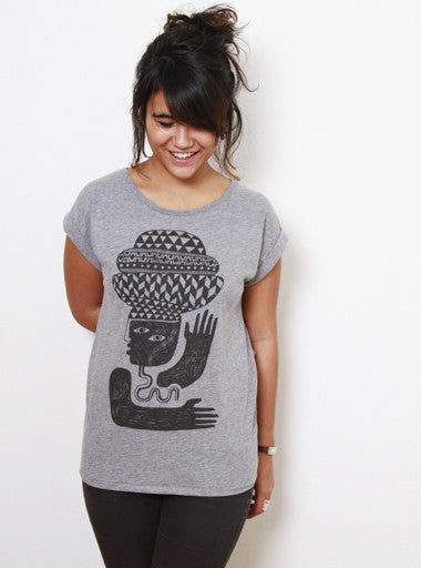 TH Gallery - Pattern Interrupted - Femme-T shirt-Atelier Amelot