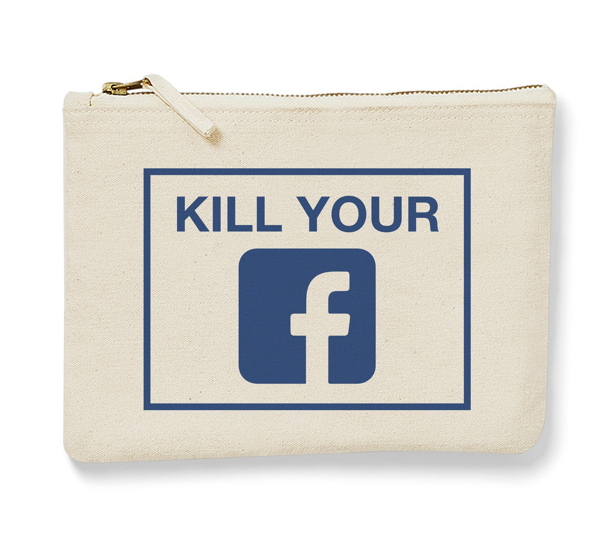 Kill your Facebook - Pochette-Pochette-Atelier Amelot