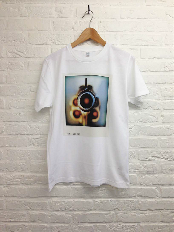 Power of Gun shot-T shirt-Atelier Amelot