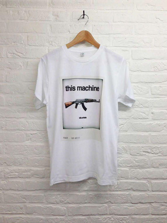 Power of Machine-T shirt-Atelier Amelot