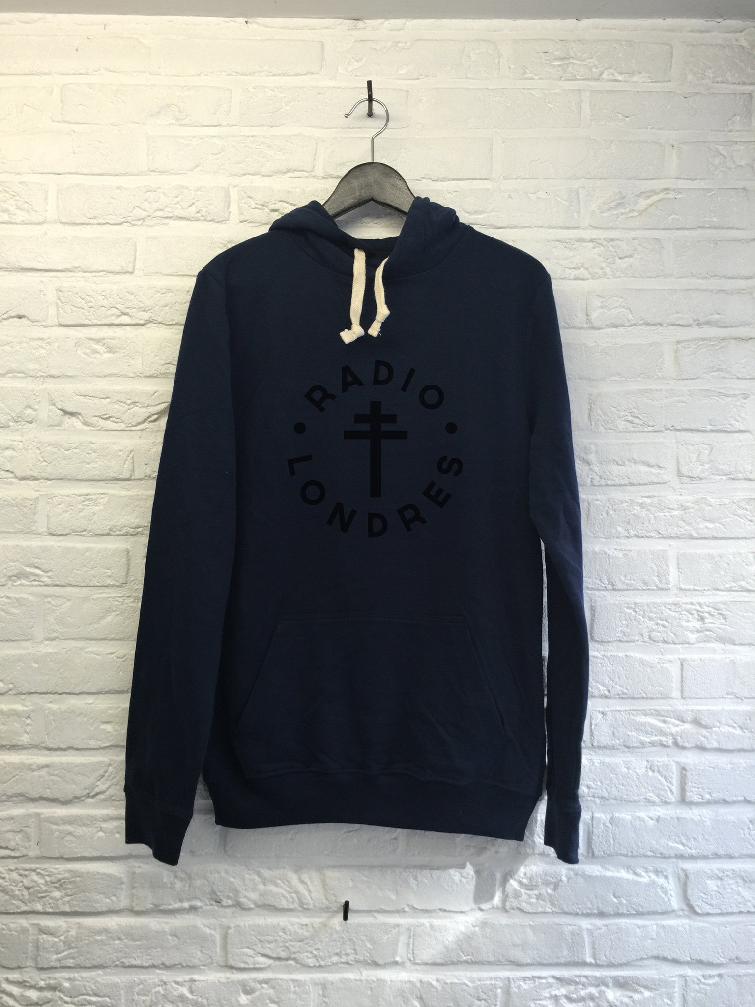 Radio Londres - Hoodie super soft touch-Sweat shirts-Atelier Amelot