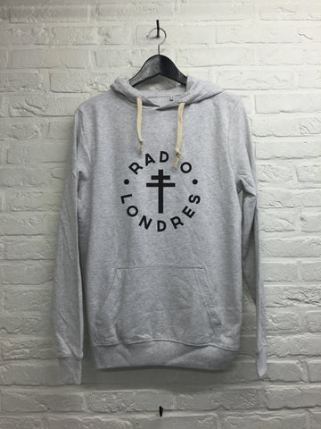 Radio Londres - Hoodie super soft touch