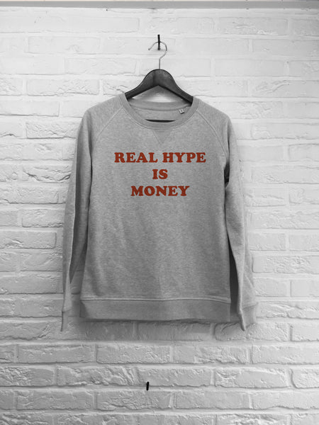 Real hype is money - Sweat - Femme-Sweat shirts-Atelier Amelot