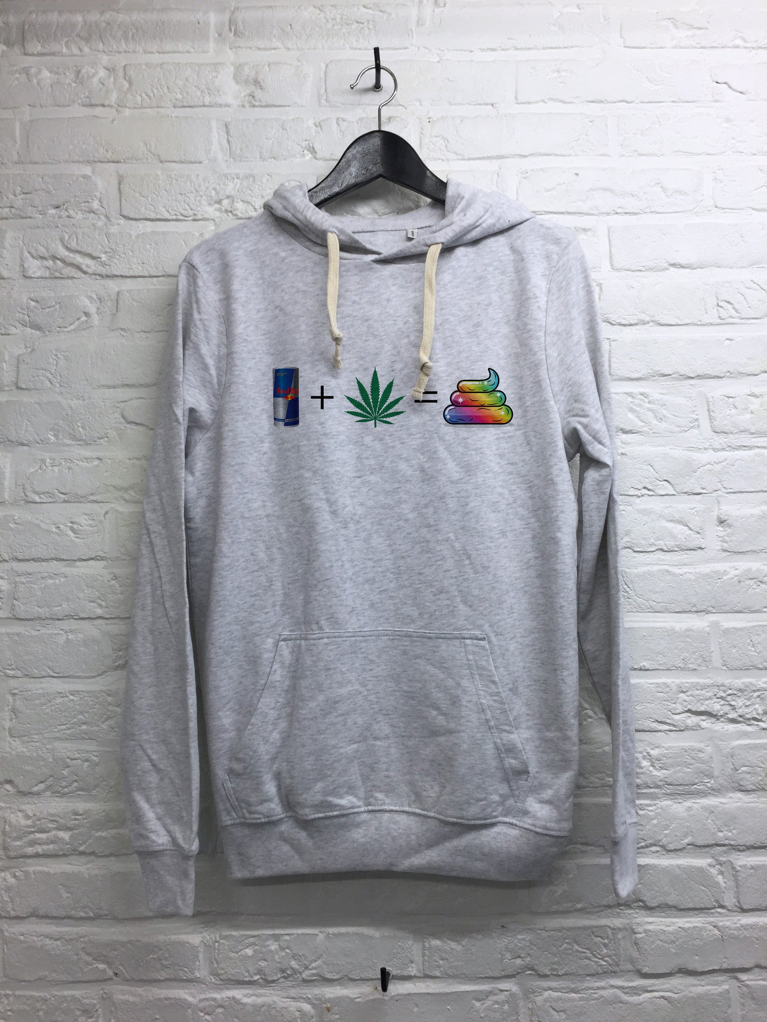 Redbull Weed Caca - Hoodie super soft touch-Sweat shirts-Atelier Amelot