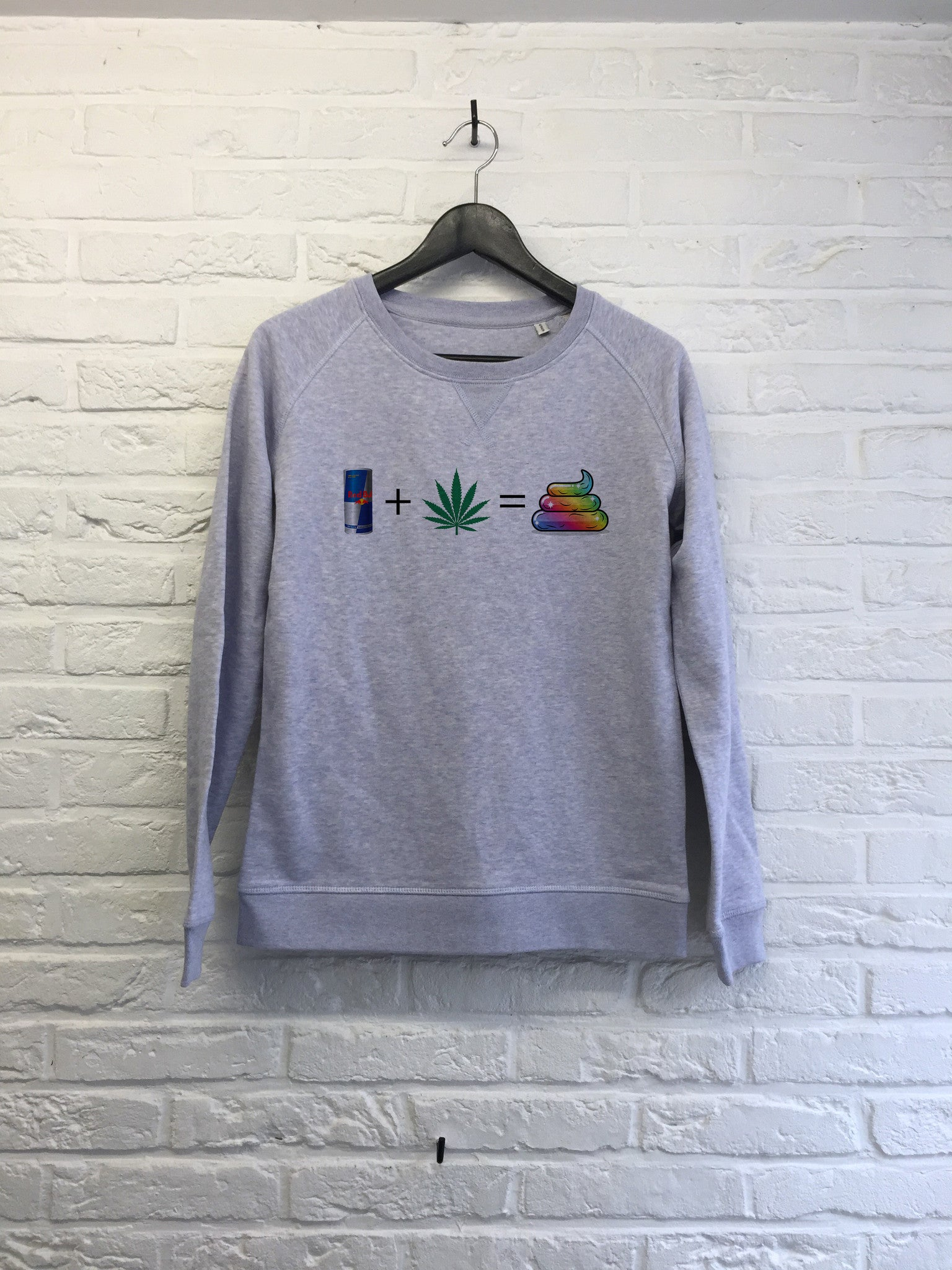 Redbull Weed Caca - Sweat - Femme-Sweat shirts-Atelier Amelot