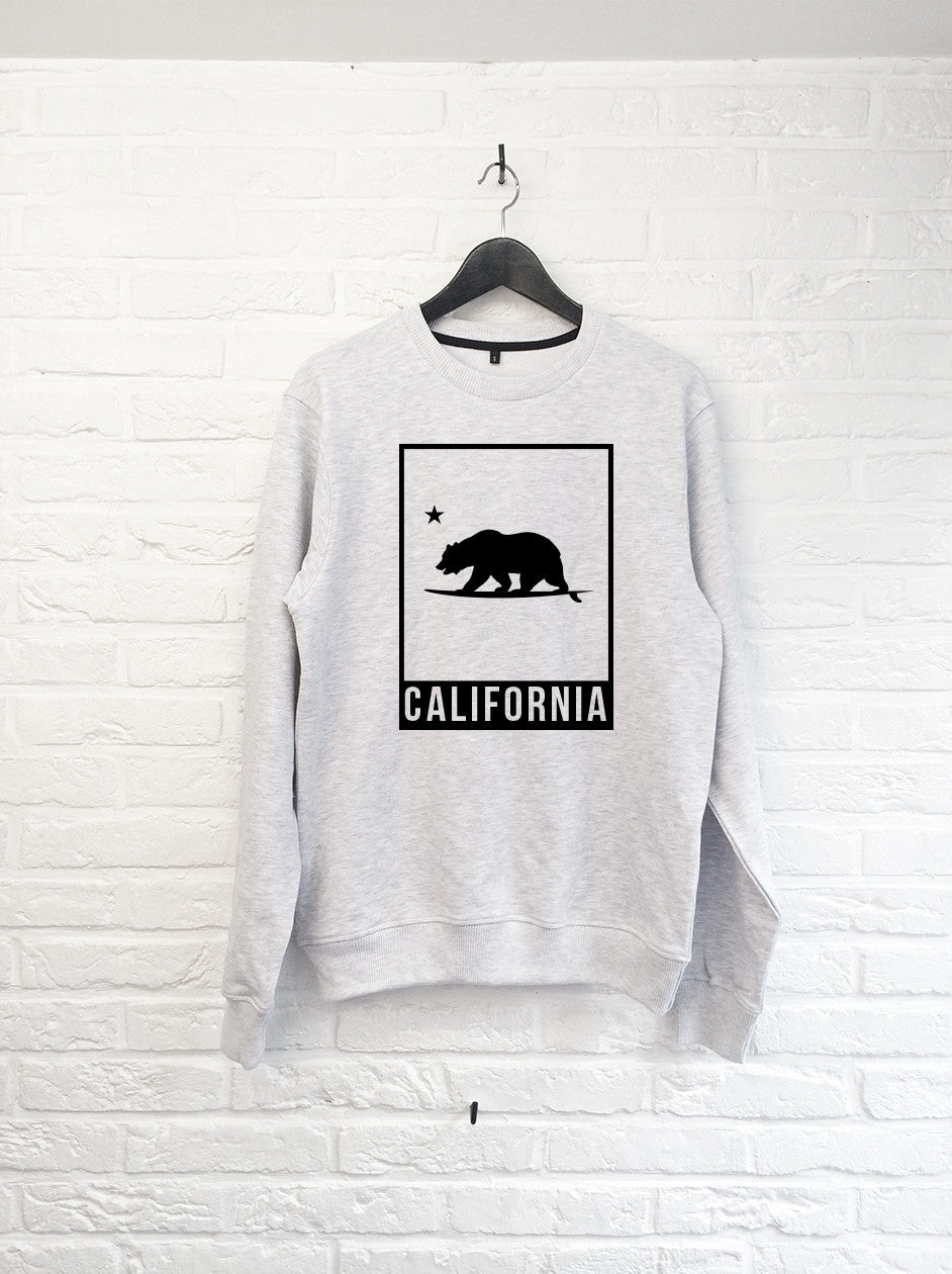 California Bear Cadre - Sweat-Sweat shirts-Atelier Amelot