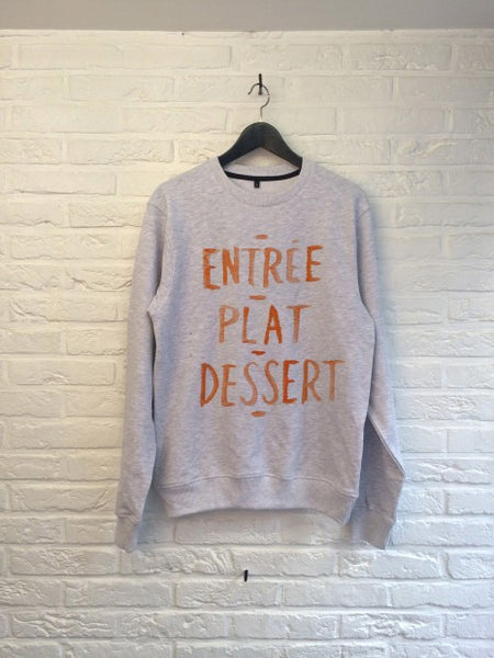 TH Gallery - Entrée Plat Dessert - Sweat