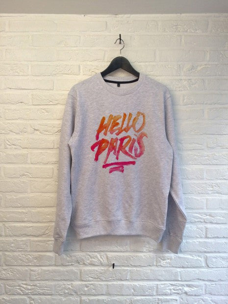 TH Gallery - Hello Paris - Sweat-Sweat shirts-Atelier Amelot