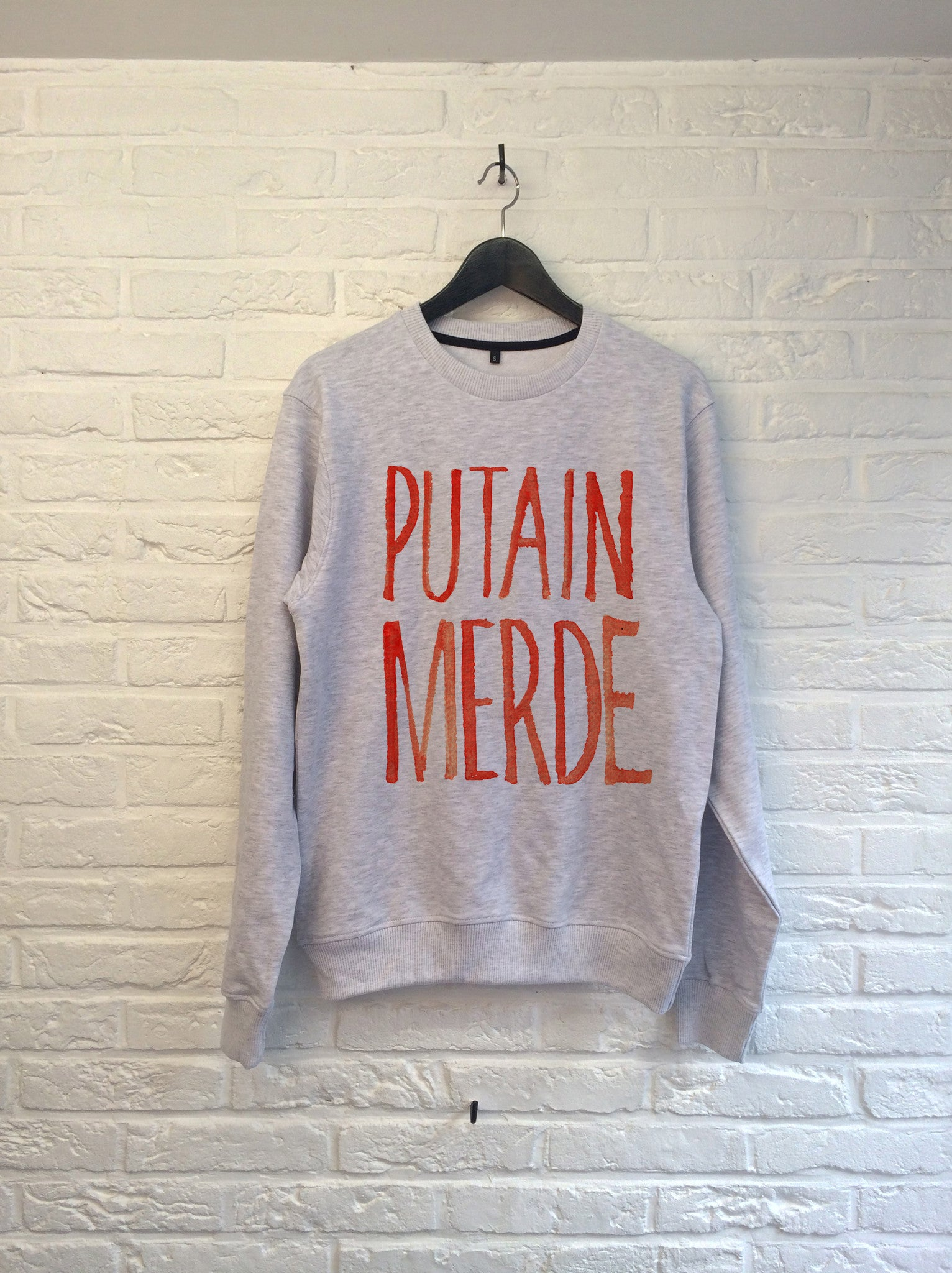 TH Gallery - Putain Merde - Sweat-Sweat shirts-Atelier Amelot