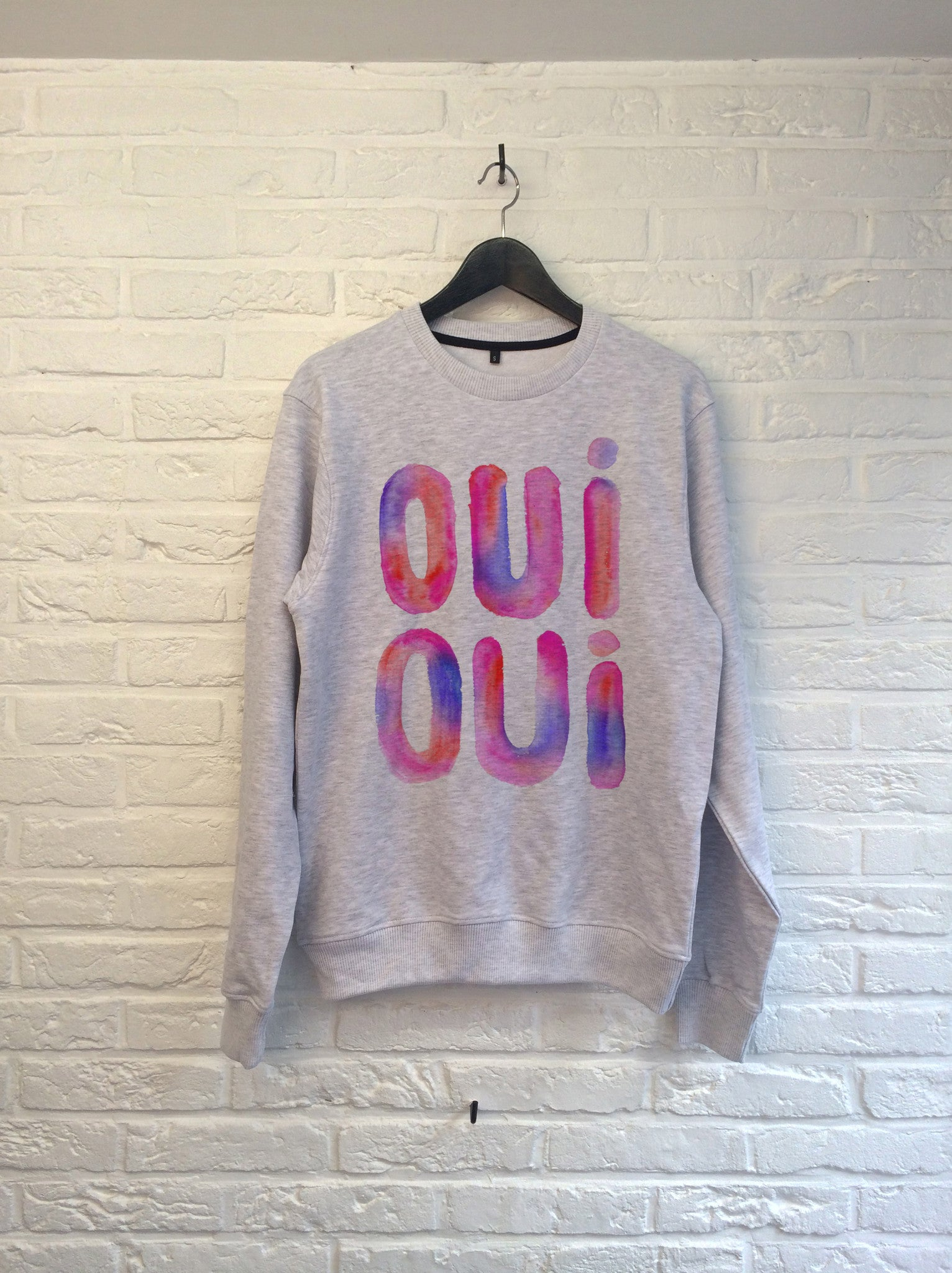 TH Gallery - Oui Oui (rose) - Sweat-Sweat shirts-Atelier Amelot