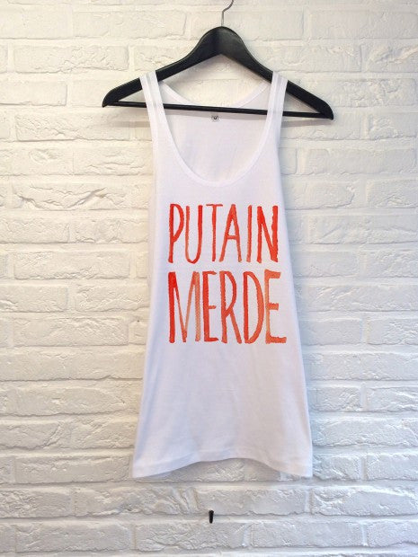 TH Gallery - Putain Merde - Débardeur-T shirt-Atelier Amelot