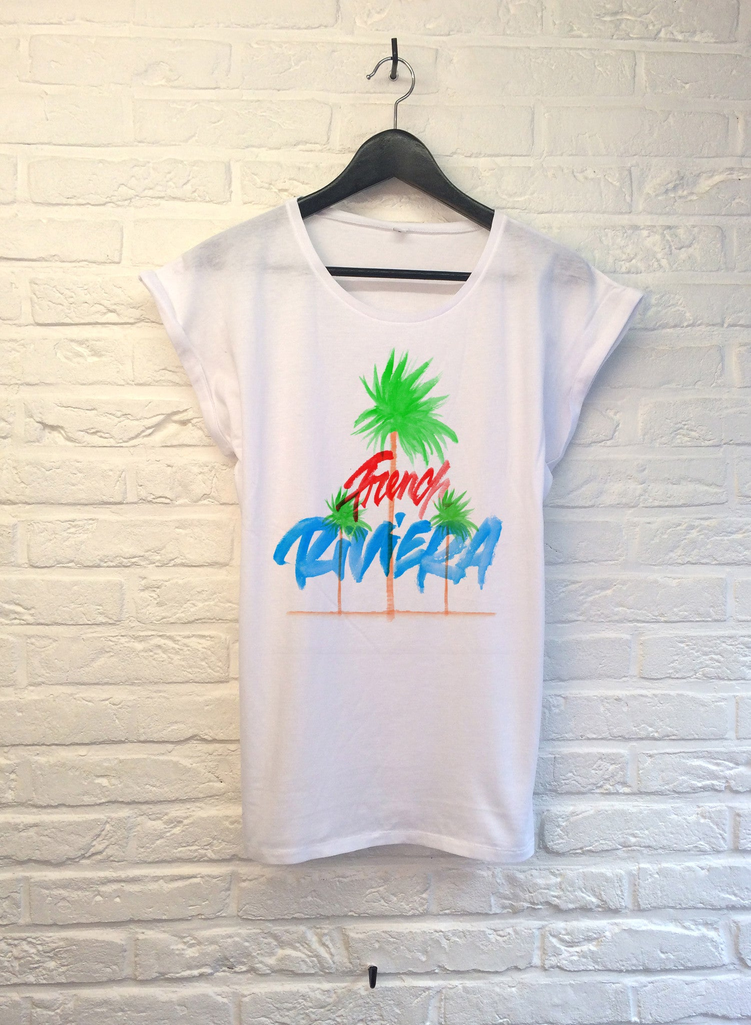 TH Gallery - French Riviera - Femme-T shirt-Atelier Amelot