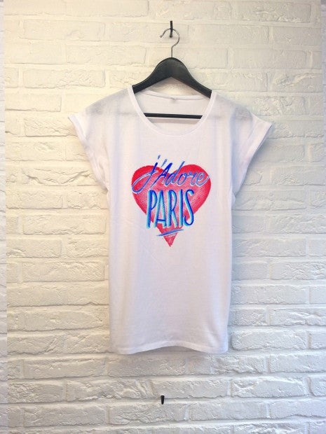 TH Gallery - J'adore Paris - Femme-T shirt-Atelier Amelot