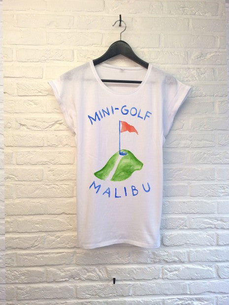 TH Gallery - Mini golf Malibu - Femme-T shirt-Atelier Amelot