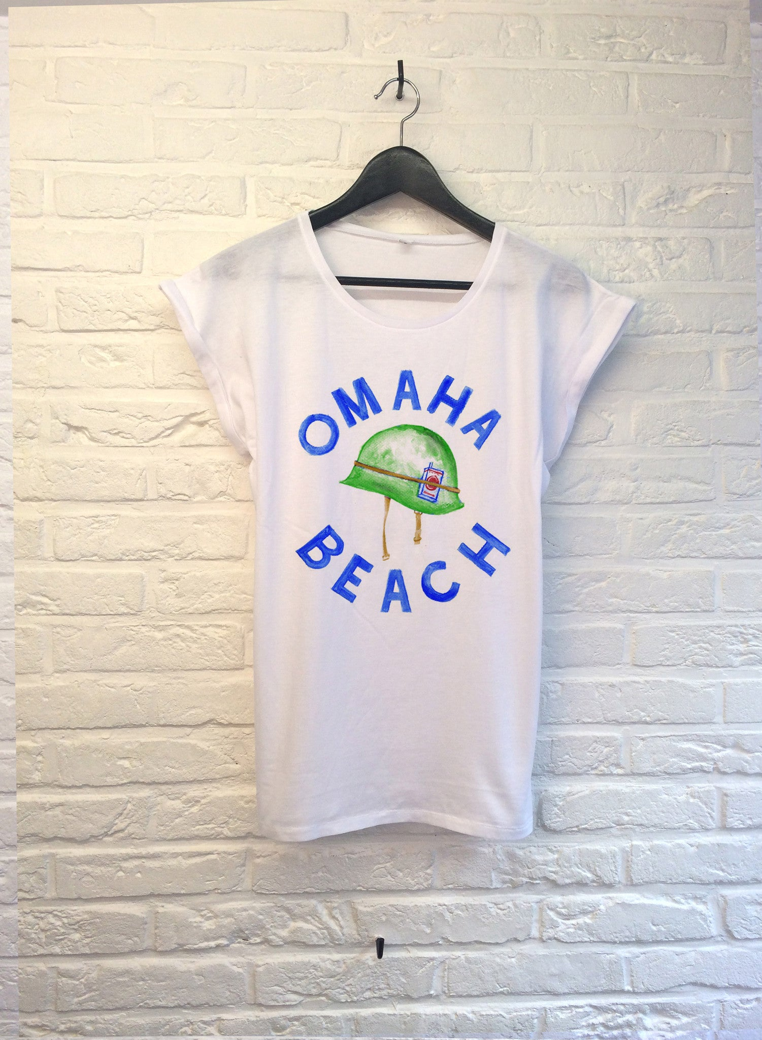 TH Gallery - Omaha Beach- Femme-T shirt-Atelier Amelot