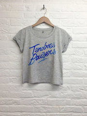 Th gallery - Tendres baisers  - Crop Top gris