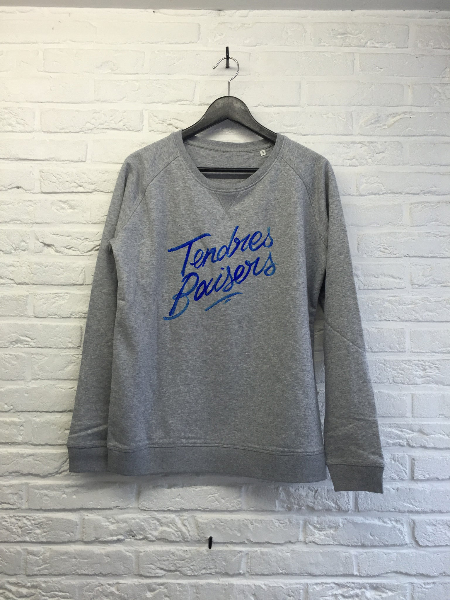TH Gallery - Tendres baisers - Sweat - Femme-Sweat shirts-Atelier Amelot