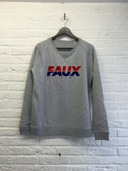 FAUX Cainri - Sweat - Femme-Sweat shirts-Atelier Amelot