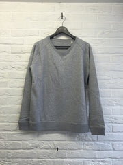 Sweat femme gris-Sweat shirts-Atelier Amelot