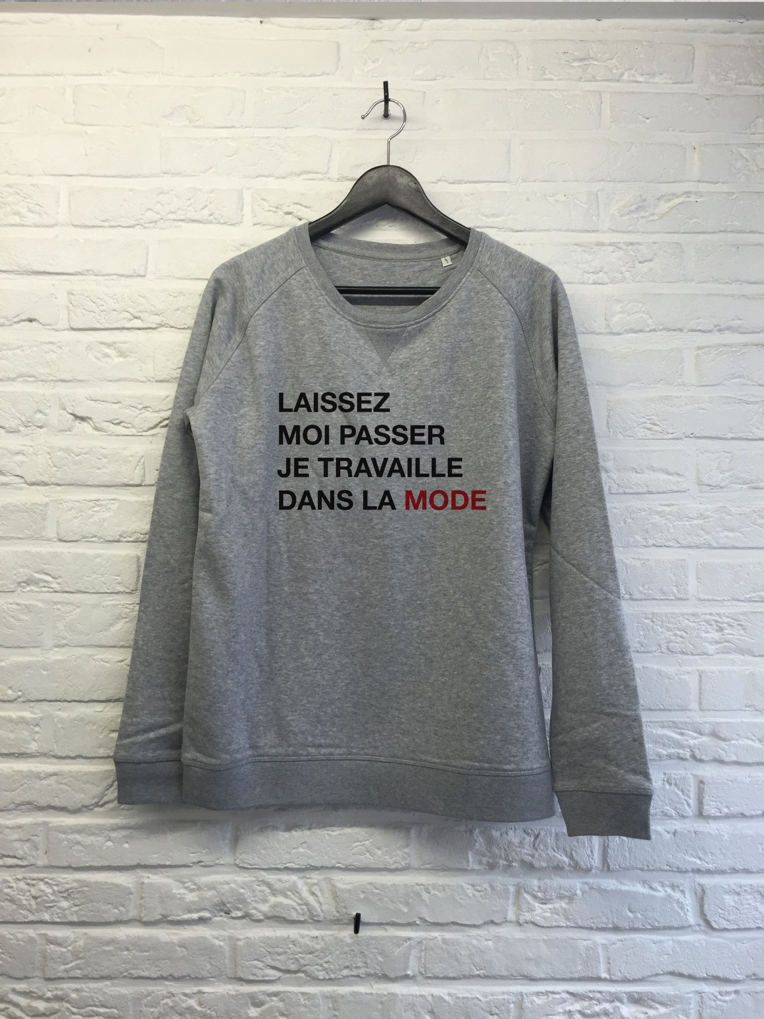 Laissez moi passer - Sweat Femme-Sweat shirts-Atelier Amelot