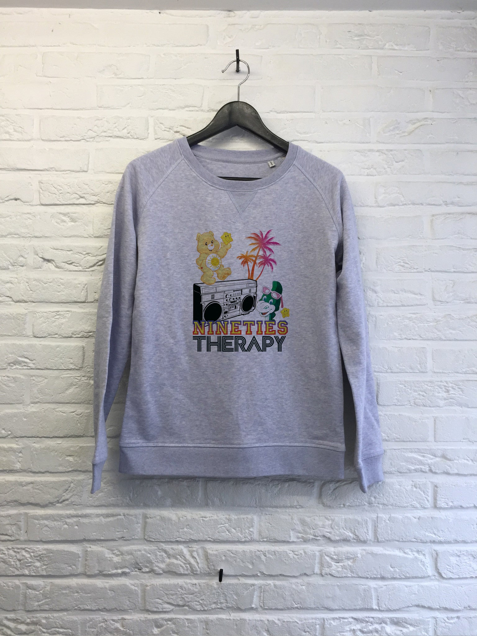 Nineties therapy - Sweat Femme-Sweat shirts-Atelier Amelot