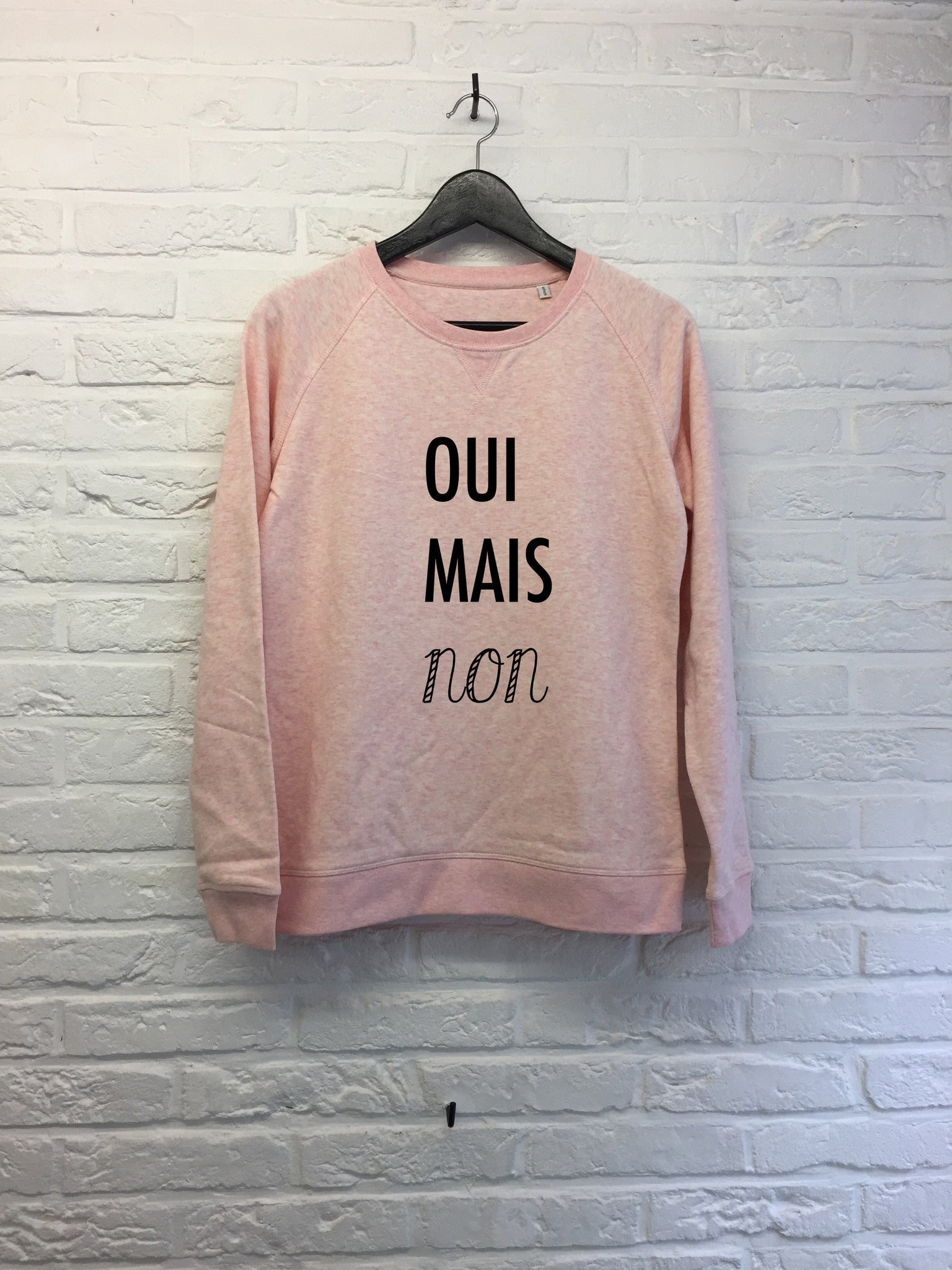Oui mais non - Sweat - Femme-Sweat shirts-Atelier Amelot