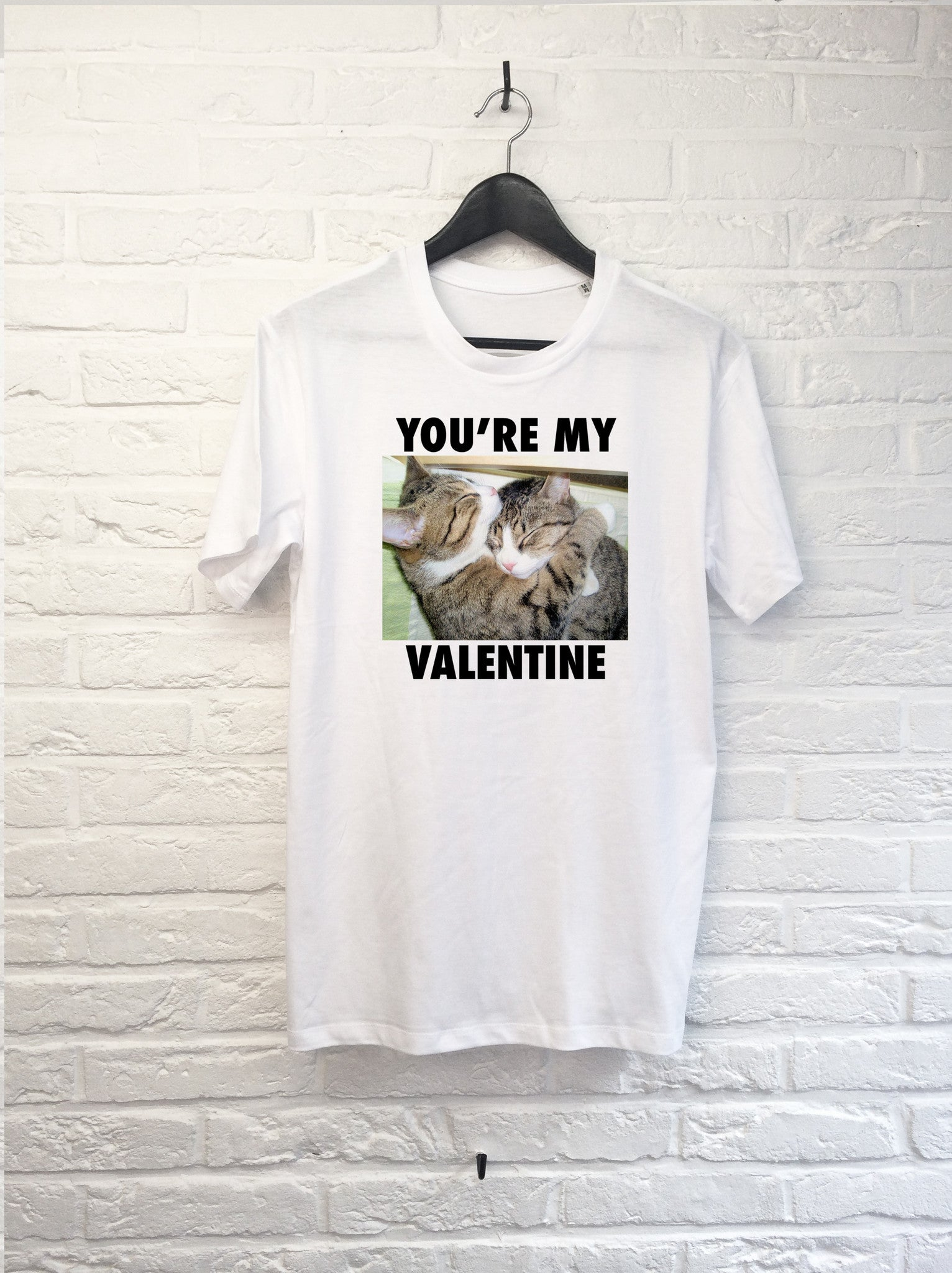 You're my Valentine-T shirt-Atelier Amelot