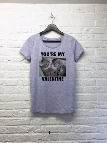 You're my Valentine - Femme - Bleu Lilac