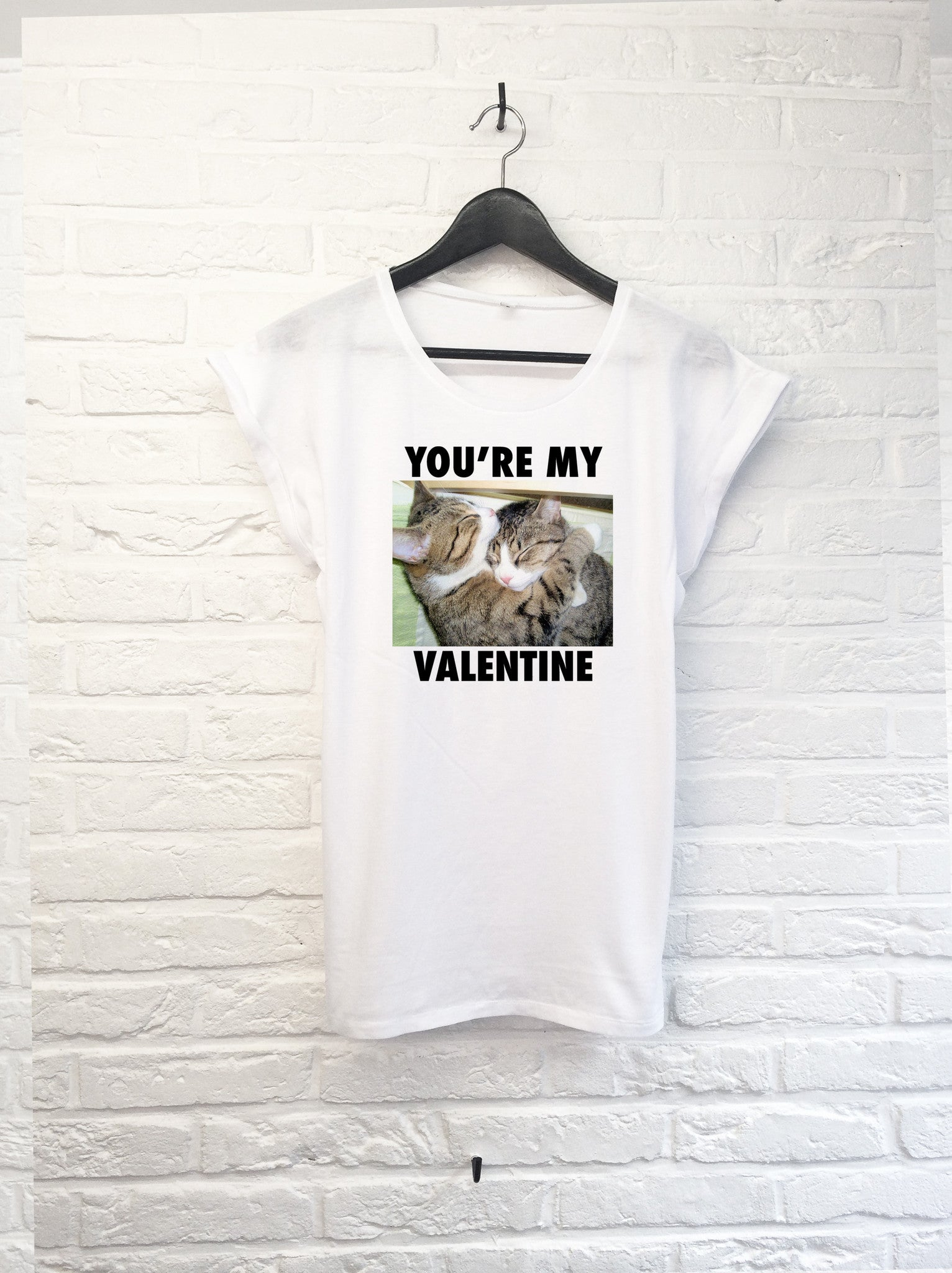 You're my Valentine - Femme-T shirt-Atelier Amelot