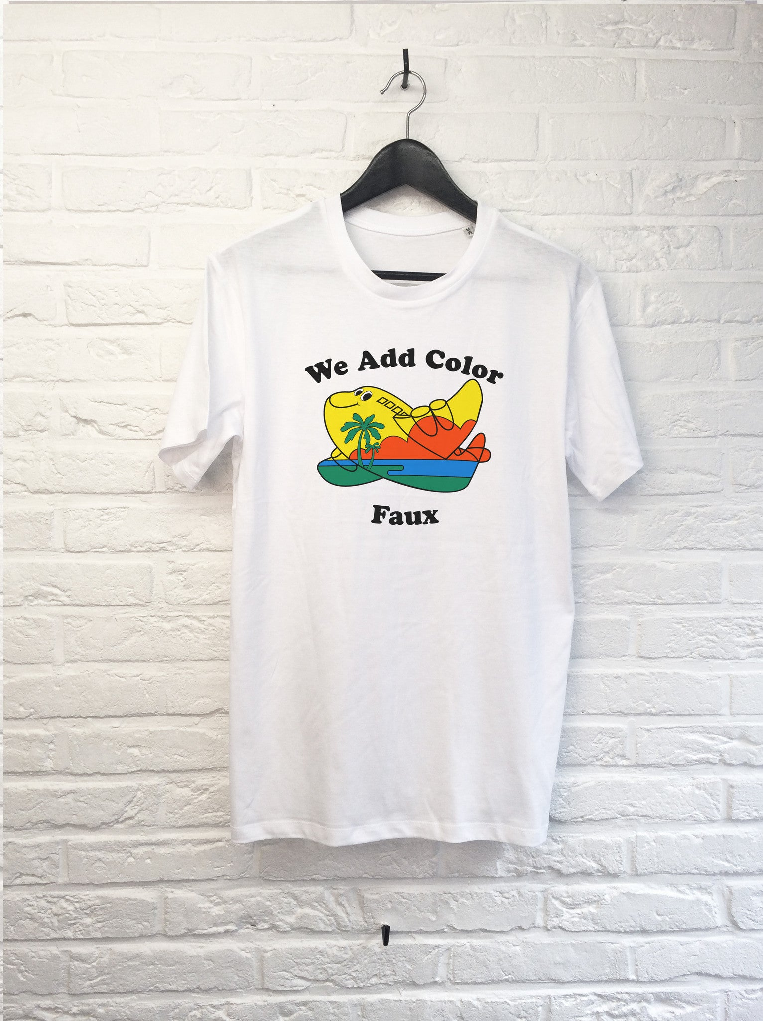 We add color-T shirt-Atelier Amelot