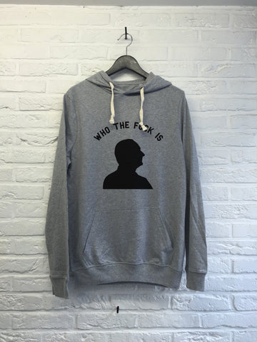 Who the f*** is Chirac - Hoodie super soft touch