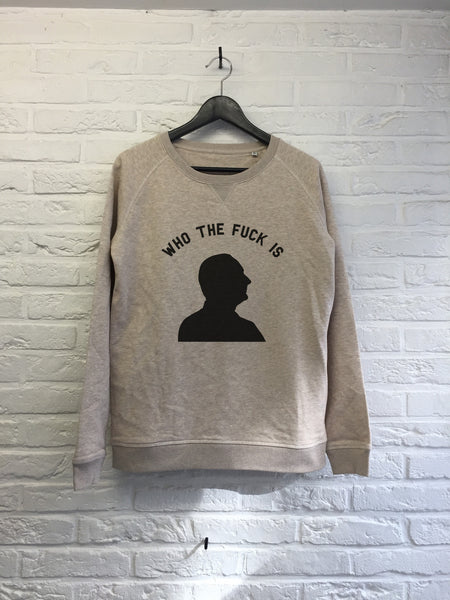 Who the fuck is Chirac ? - Sweat - Femme-Sweat shirts-Atelier Amelot