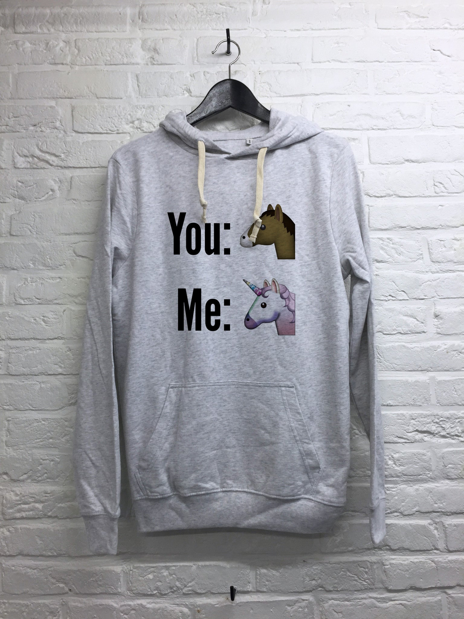 You and Me - Hoodie super soft touch-Sweat shirts-Atelier Amelot