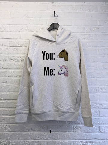 You and Me - Hoodie Deluxe