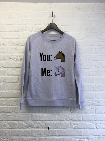 You and Me - Sweat - Femme
