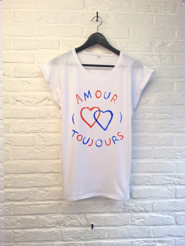 TH Gallery - Amour Toujours - Femme-T shirt-Atelier Amelot
