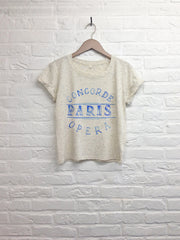 TH Gallery - Concorde Paris Opera - Crop Top speckled Cream-T shirt-Atelier Amelot