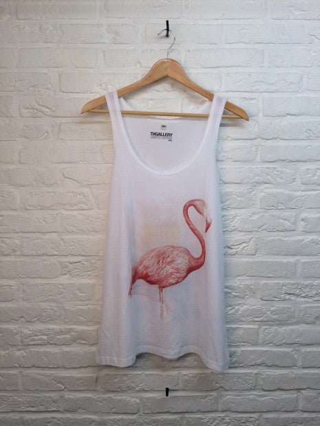 TH Gallery - Flamant Rose - Débardeur-T shirt-Atelier Amelot