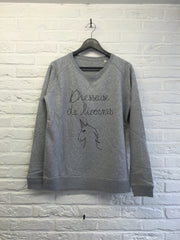 Dresseuse de Licornes - Sweat - Femme-Sweat shirts-Atelier Amelot