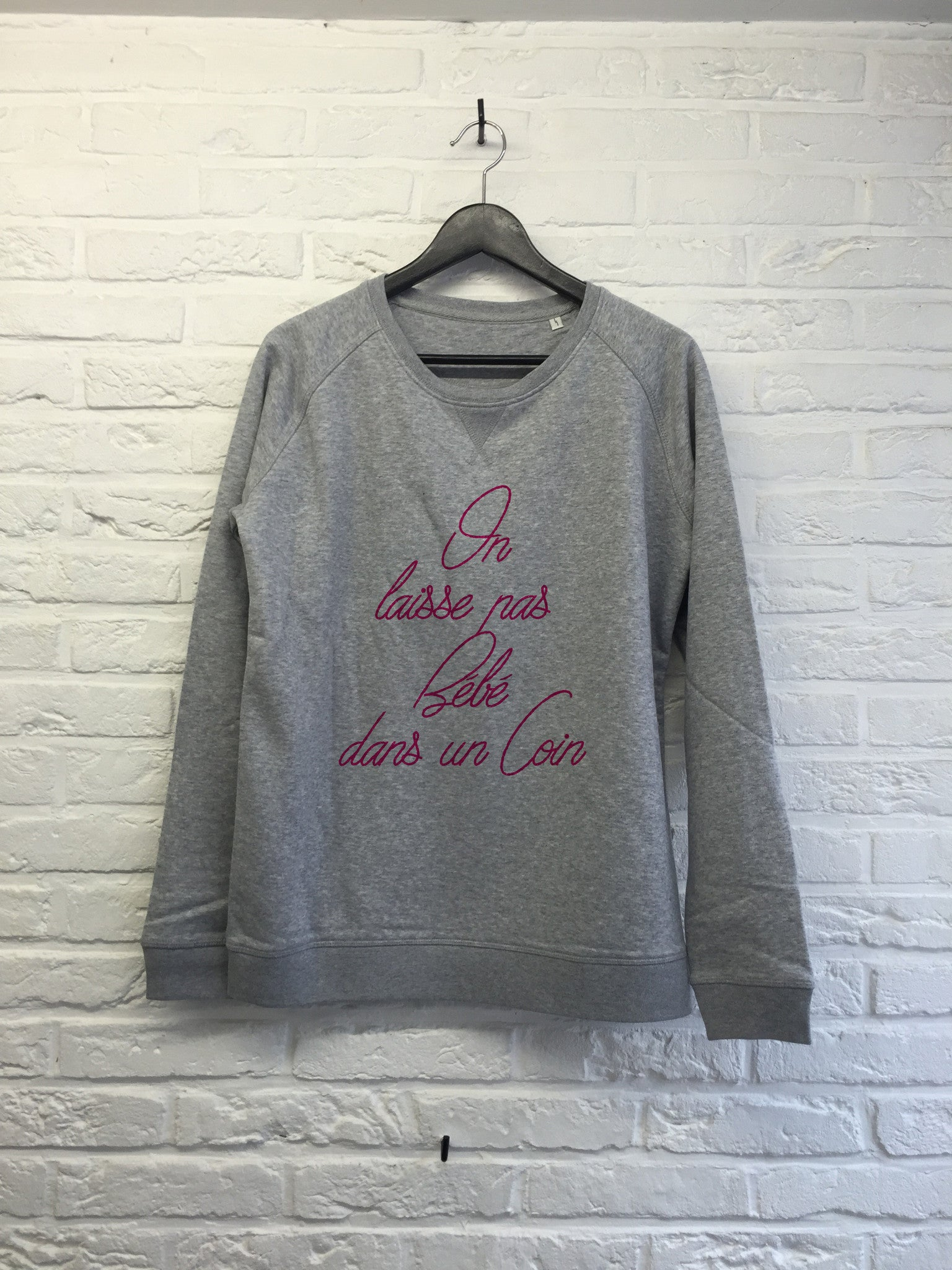 Bebe dans un coin - Sweat - Femme-Sweat shirts-Atelier Amelot
