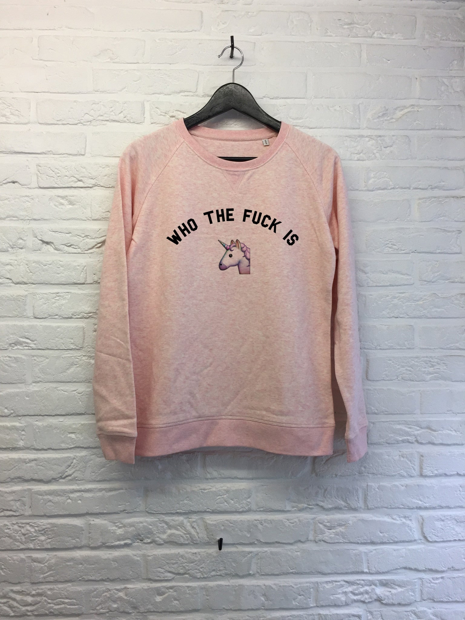 Who the f*** is unicorn - Sweat - Femme-Sweat shirts-Atelier Amelot