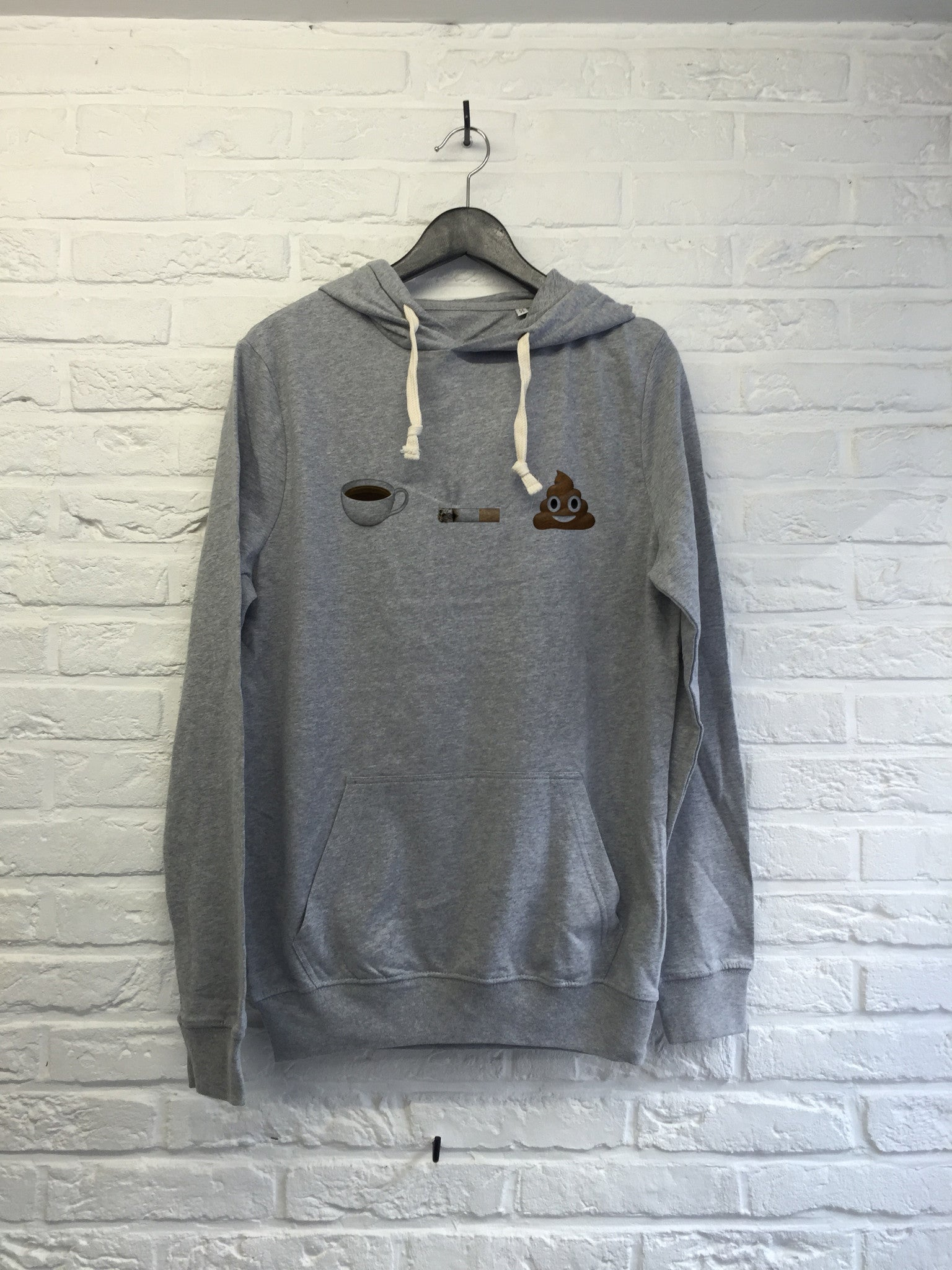 Cafe clope caca - Hoodie super soft touch-Sweat shirts-Atelier Amelot