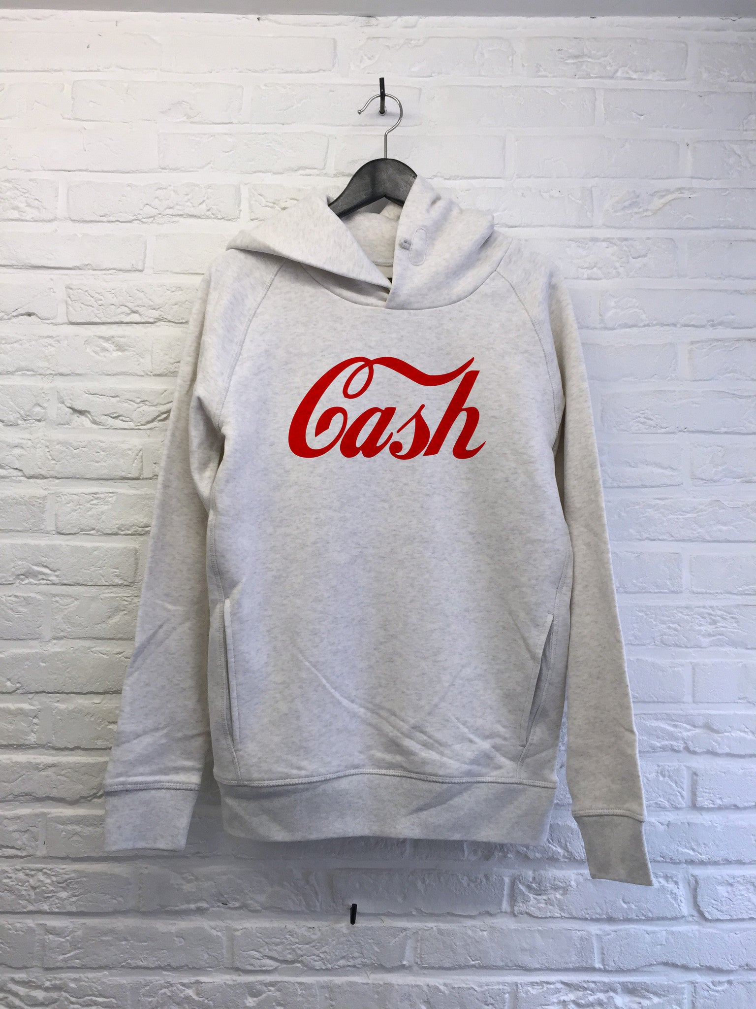 Cash - Hoodie Deluxe Creme chine