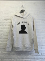Who the f*** is Chirac - Hoodie Deluxe Creme chine