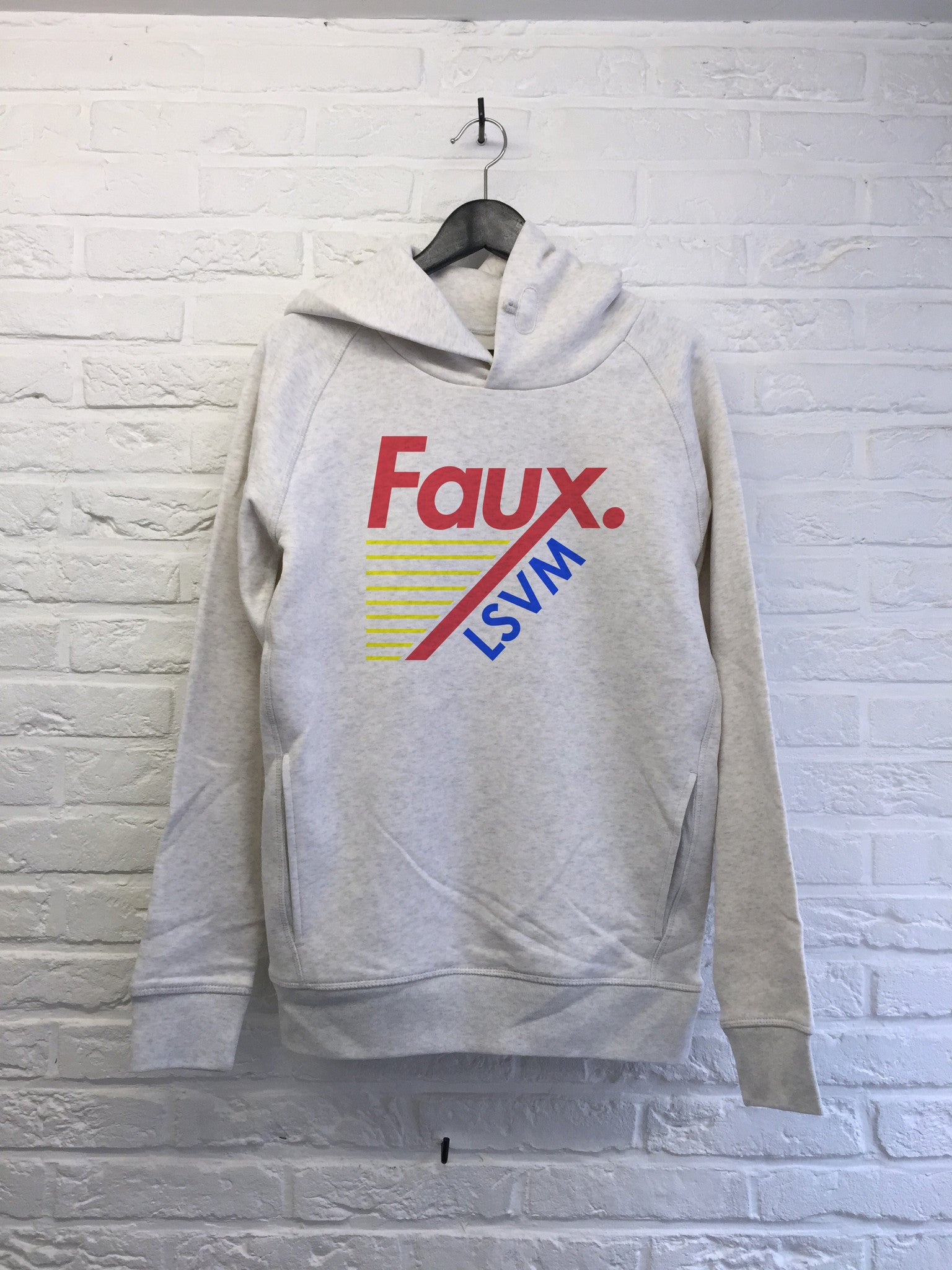 Faux Only - Hoodie Deluxe-Sweat shirts-Atelier Amelot